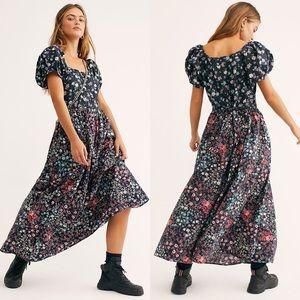 LoveShackFancy | lais floral peasant maxi dress